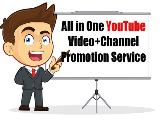 I will promote your YouTube Video to UK or USA audience