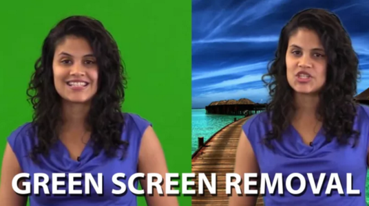 Remove Green Screen Matte In Any Video