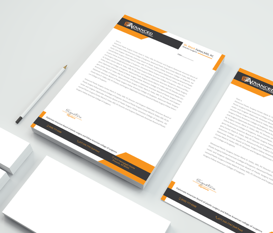 I will design professional letterhead