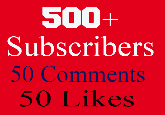 I will provide 500  High quality youtube subscribers