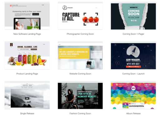 Design Any Type Of Landing Page,Squeeze Page,Coming Soon Page