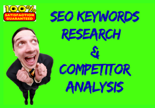 I will do SEO Keyword research & Competitor analysis
