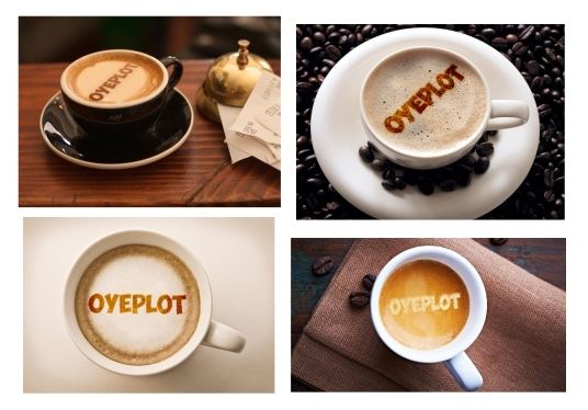 I will Put Text Or Logo On 5 Amazing Coffee Latte Art