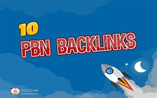 I will give 10 High PBN Backlinks - Homepage Quality Links