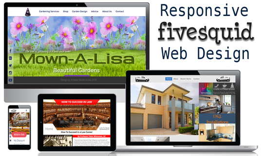 I will Create a Modern Responsive Website