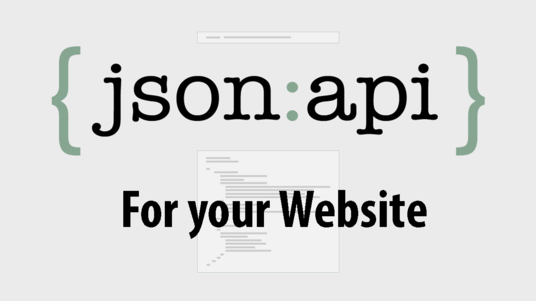 creat json api for your website