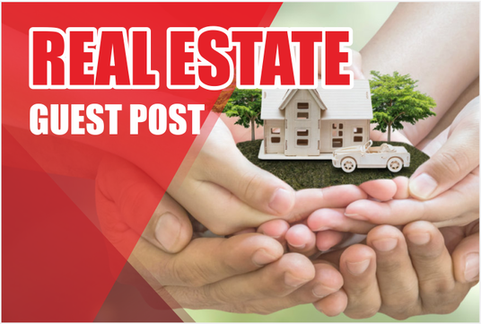 I will do guest post on HOME or REAL ESTATE related blogs