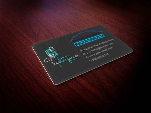 create Design Business Card With three Concepts