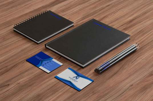 create Business stationery
