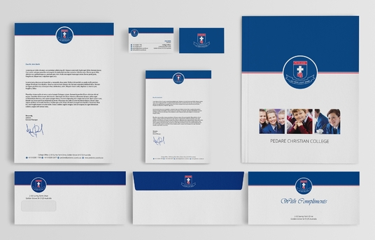 design eye-catching letterhead, business cards or stationery