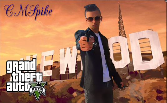 I will turn you into a cartoon image and apply it to a GTA theme