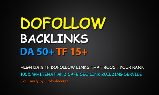 I will Manually Create 50 Pr9-5 Permanent Authority Dofollow Backlinks