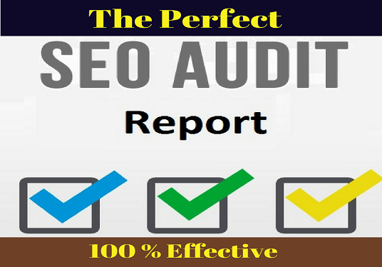 I will Provide An SEO Audit For Your Website