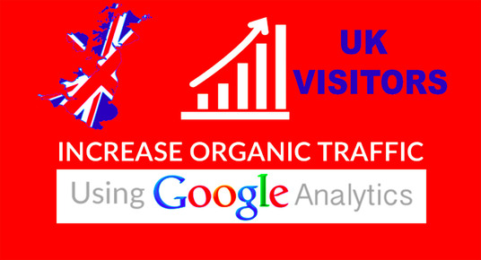 Drive UK organic SEO KEYWORD TARGETED for 1 month