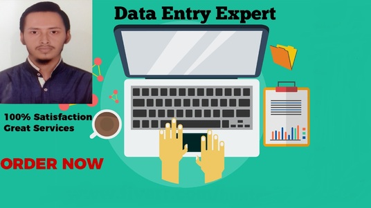 I will Do Data Entry, Web Research, Data Analysis