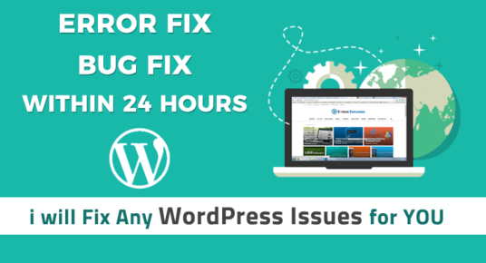 Fix WordPress Errors, Issues And Bugs
