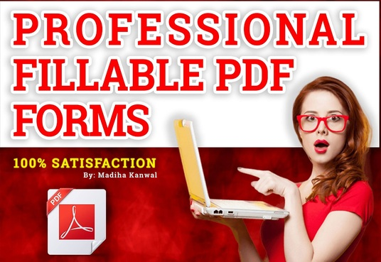 I will Create A Fillable Pdf Form Or Convert To Fillable Pdf Form