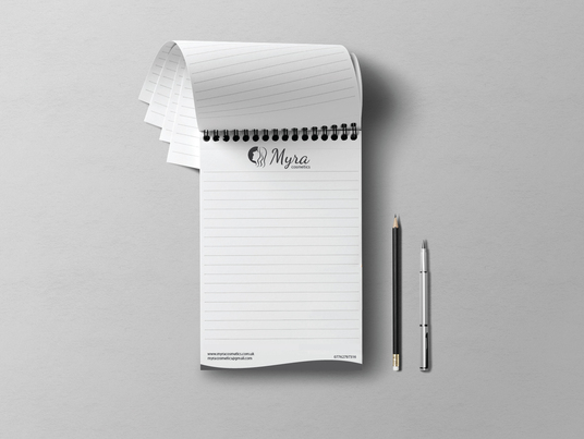 I will design stylish and professional Notepad