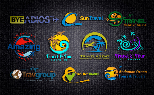 I will design Travel Tour Holidays Logo Design