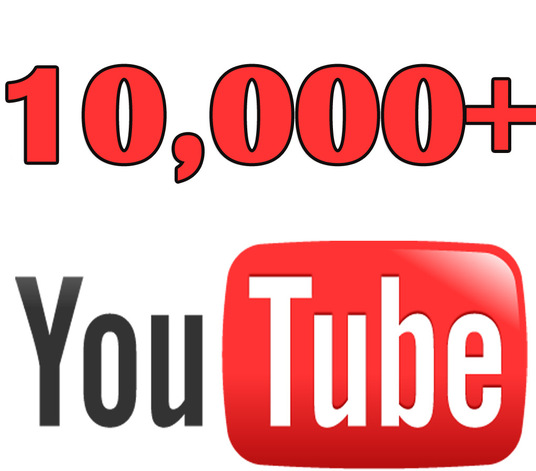 I will Give You High Quality 10,000+YOU TUBE views