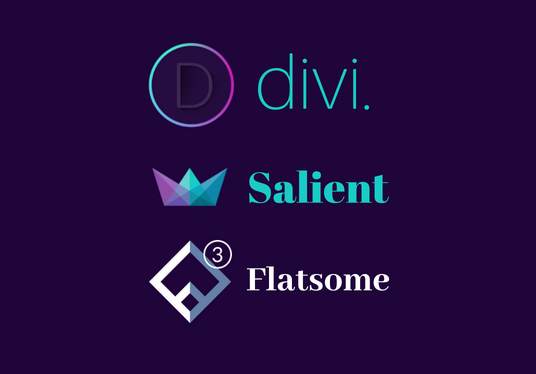 I will create website using divi theme, salient theme and flatsome theme