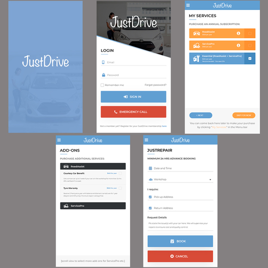I will Design Professional And Responsive Website Mockup, UI Page