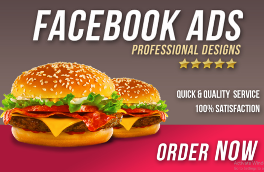 I will Design Engaging Facebook Ads