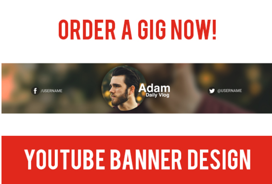 I will Design A Professional Youtube Banner