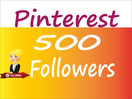 I will provide 500 pinterest followers or likes