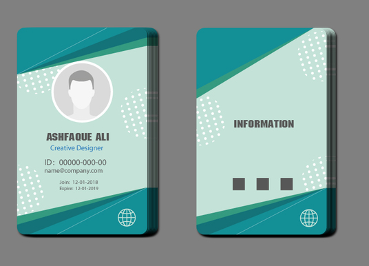 I will Design Two Side Business Card For You