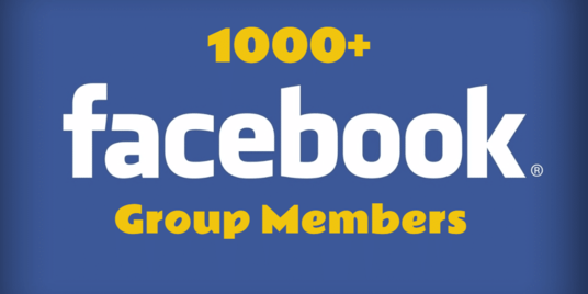 I will add 1000 Facebook active Members your FB Group