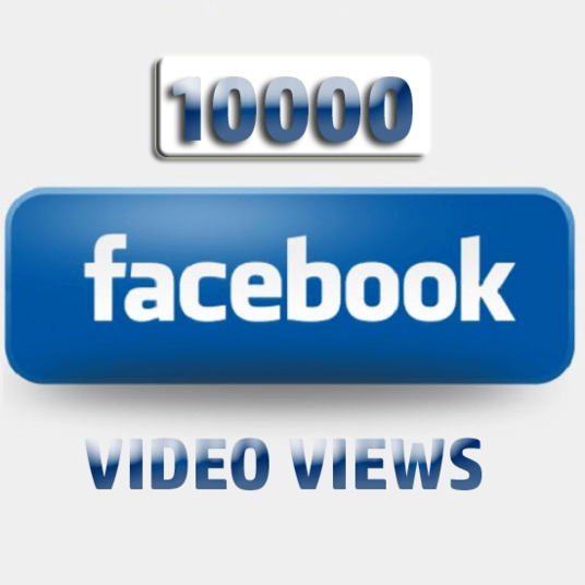 I will give you 10,000 Facebook Video Views