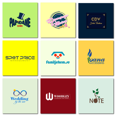 design 3 logos for your company
