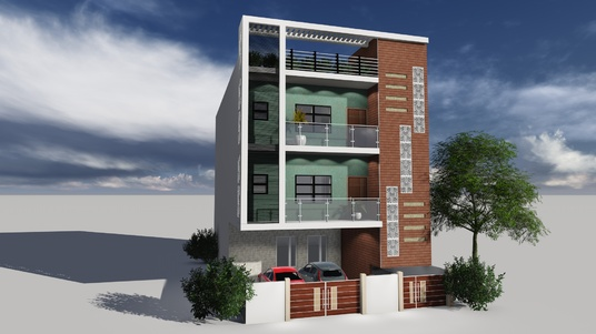 I will design and create autocad drawings, 3d model and rendered views