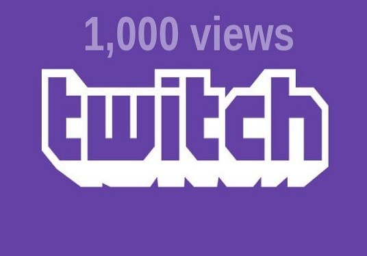 Provide 1000+ Twitch Channel Views