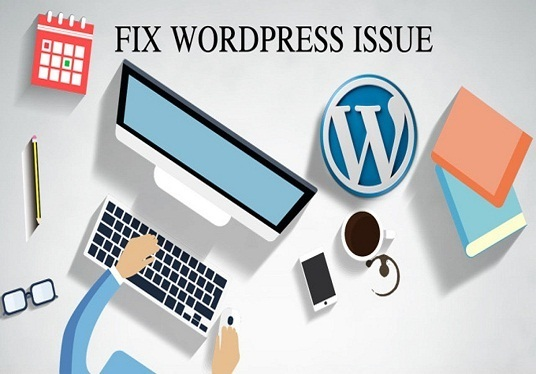 I will fix wordpress issues, errors and bugs