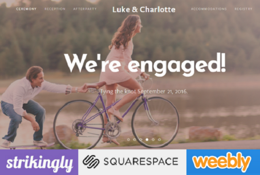 I will Design Or Redesign Weebly, Strikingly And Squarespace Website