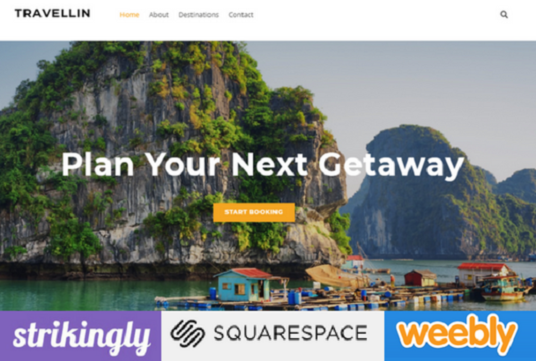 Design Or Redesign Weebly, Strikingly And Squarespace Website