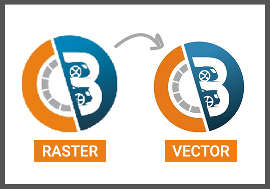 I will vectorize, convert your logo or graphic into vector