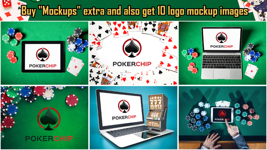 create all 5 Gambling, Poker, Casino logo intro videos