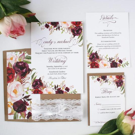 I will Design Amazing Wedding Cards