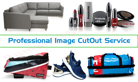 I will cut out 30 images professionally