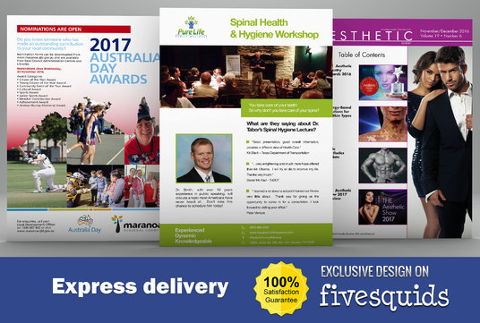 I will design Flyer, Brochure and Poster for your business