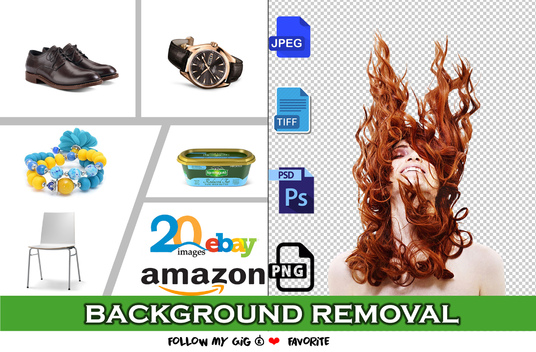 I will photo editing background removal 40 images