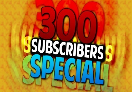 I will add 300 YouTube real subscribers