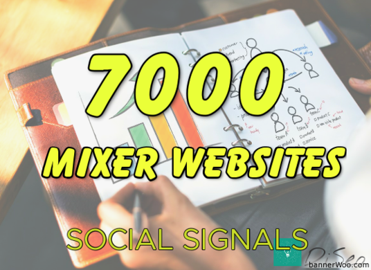 I will give you 7000 Custom Social Signals SEO Backlinks