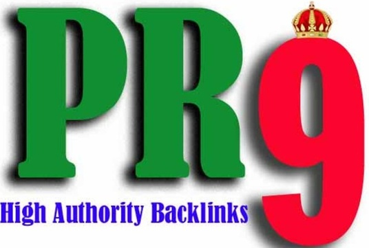 I will MANUALLY create 10 PR9, DA 70+ High Authority Backlinks