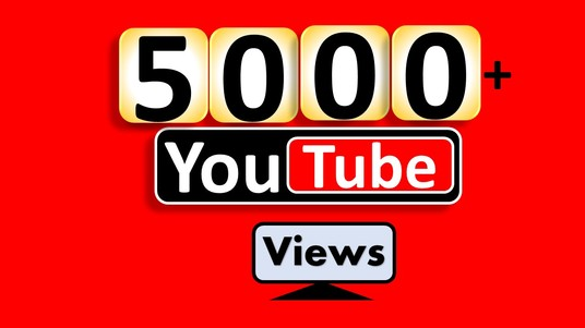 I will Add 5000+ YouTube Video Views & 100+  Likes,  Non Drop & Real Active Visit