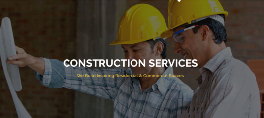 I will Build Professional Construction wordpress Website