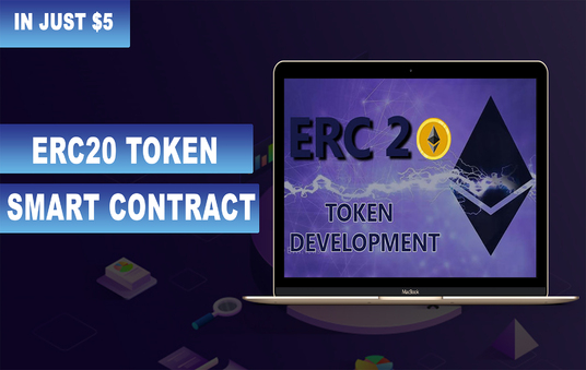 I will Create Your Erc20 Token On Ethereum Blockchain